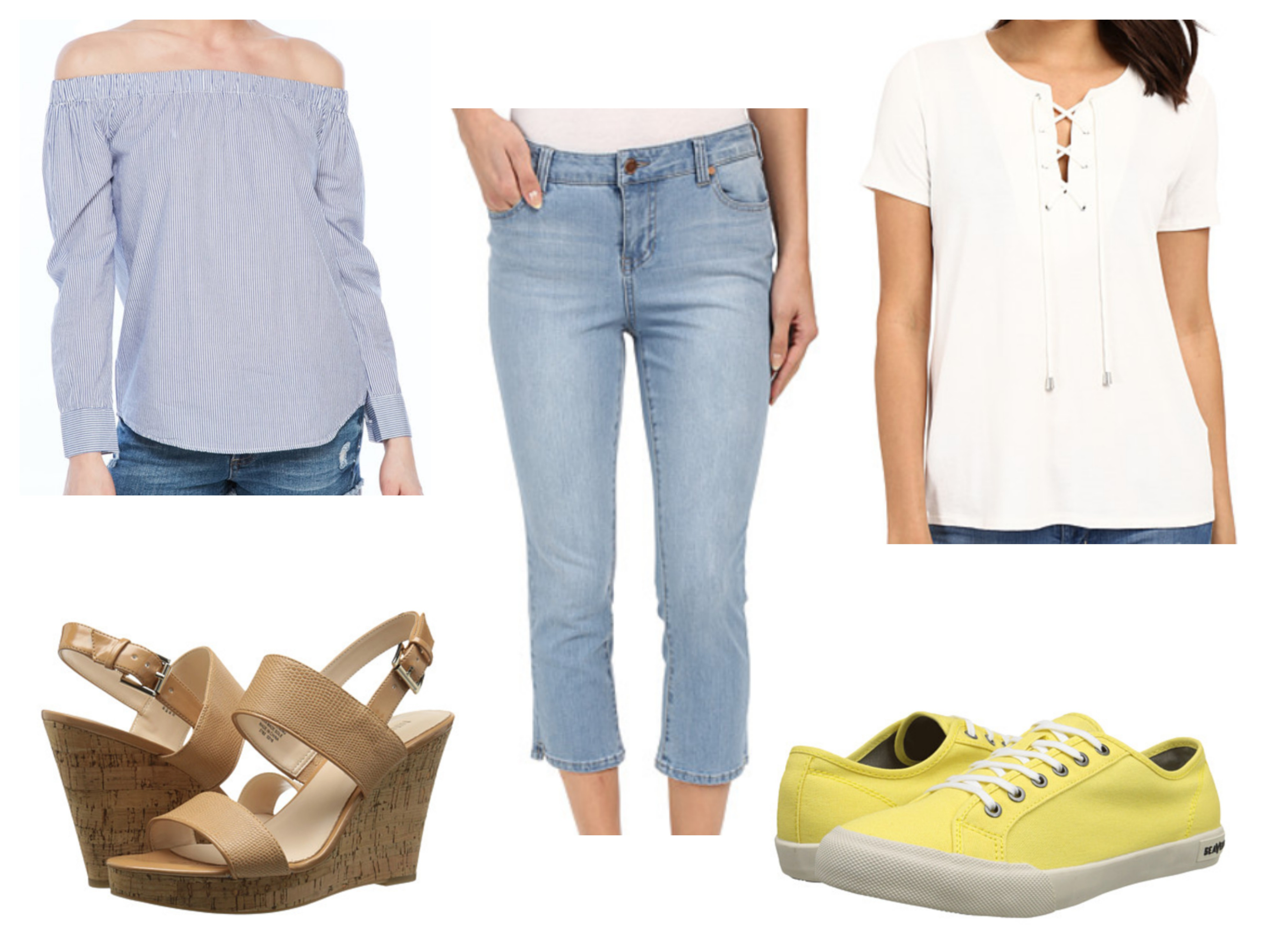 Design your own t shirt liverpool - For This Next Fix I Focused On Current Trends And Creating A Casual Look Pair The Rd Style Off The Shoulder Top With The Liverpool Capris And Nine West